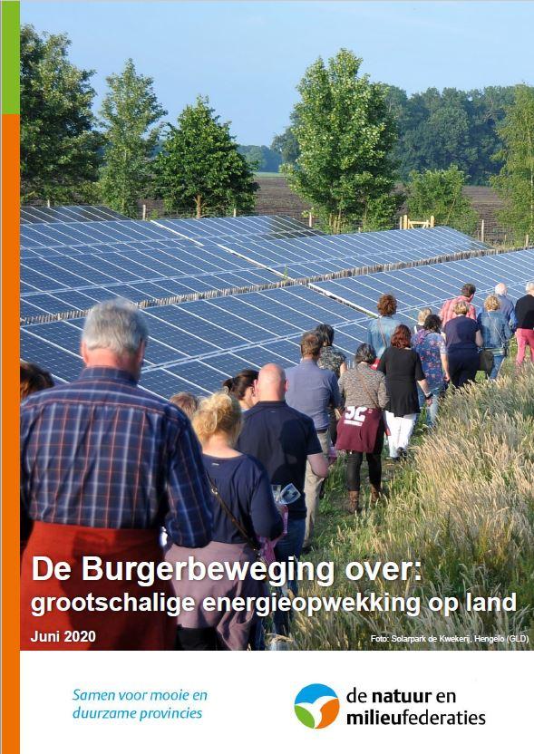 Burgers over grootschalige energie-opwekking