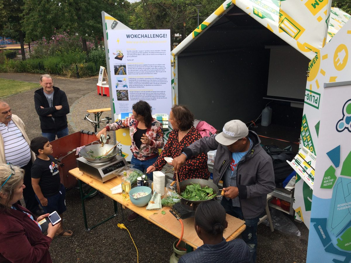 Bewoners uit het Rotterdamse Delfshaven nemen het voortouw